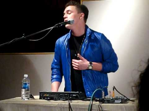 """Jesse McCartney- """"Beautiful Soul""""  @ Music Shed in New Orleans"""