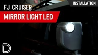 How to Install Toyota FJ Cruiser Mirror LEDs
