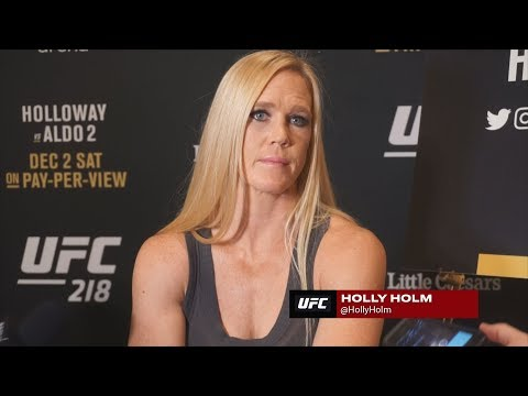 UFC 219's Holly Holm Not Happy With Cris Cyborg About Drug Testing Comments