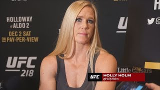Video UFC 219's Holly Holm Not Happy With Cris Cyborg About Drug Testing Comments download MP3, 3GP, MP4, WEBM, AVI, FLV Oktober 2018