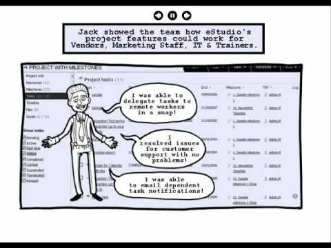 Project Management Software Comic based Case Study