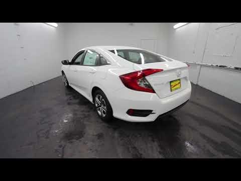 2018 Honda Civic LX | Taffeta White | JH506623 | Seattle | Burien | Renton