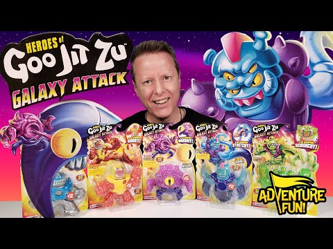 """Download Heroes of Goo Jit Zu Galaxy Attack! Including Ultra Rare """"Crusticoid"""" Adventure Fun Toy review!"""