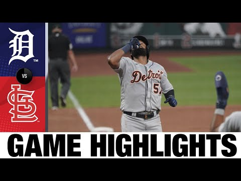 Candelario, Bonafacio power Tigers' win | Tigers-Cardinals Game 2 Highlights 9/10/20