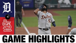 Candelario, Bonafacio power Tigers win  Tigers-Cardinals Game 2 Highlights 9/10/20
