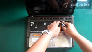 How to Replace Toshiba Satellite P745 Keyboard