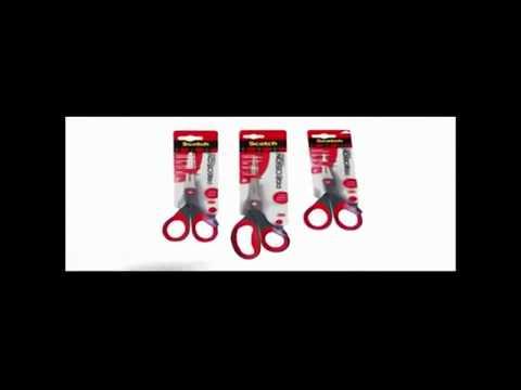 "PREMIUM Scotch 3M Precision Ultra Edge 8"" Scissors Scissor For Paper Fabric NEW"