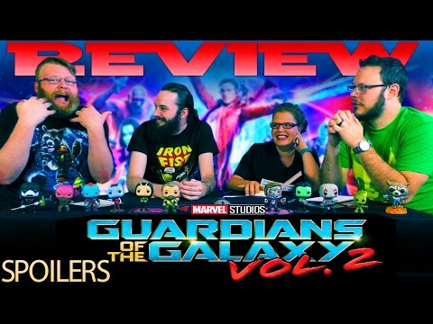 SPOILER MOVIE REVIEW!! Guardians of The Galaxy Vol 2