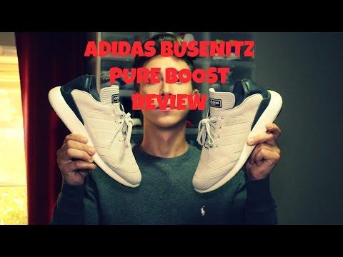 huge discount 6d3a9 a1b43 Adidas Busenitz Pure Boost Detailed Review + On Foot! Toooooort