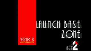 Sonic 3 Music: Launch Base Zone Act 2 [extended]