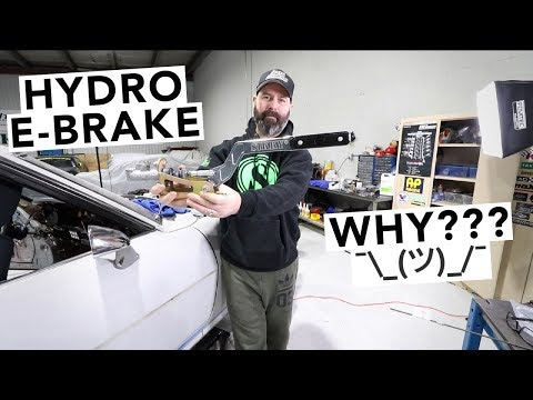 Hydro E-Brake Installed!? RA24 Toyota...