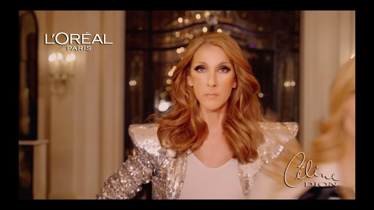 Celine Dion - L'oreal Commercial 2019 (English)
