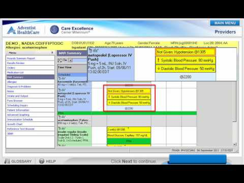 cerner-medication-administration-record-(mar)-demo