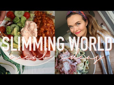 SLIMMING WORLD MEALS & RECIPES - WHAT I EAT TO LOSE WEIGHT - FOOD DIARY
