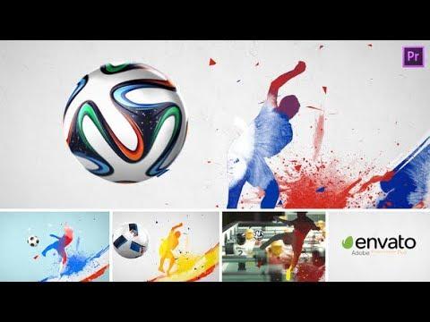 Premiere Pro Template: Soccer Sport Opener