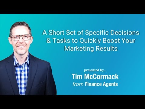 Quick Steps to Boost Your Loan Marketing: Daily Funding Call - F/A