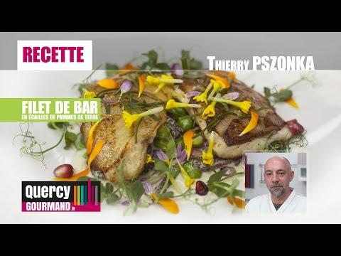 RECETTE : Filet de Bar en écailles de pommes de terre – quercygourmand.tv