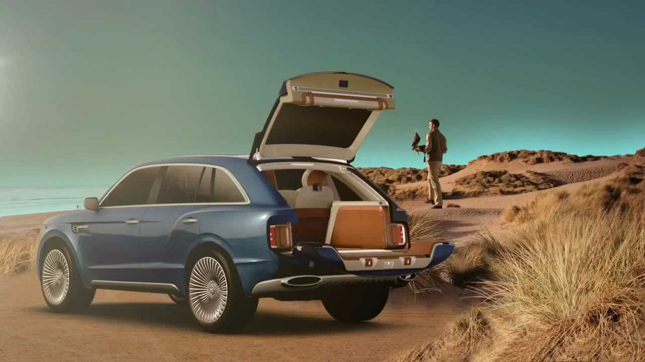 New Bentley Suv Tv Ads Commercial Youtube