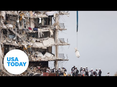 Officials provide an update on the collapsed condo in Surfside, Florida | USA TODAY