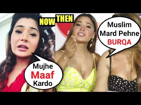 Sara Khan Apologies For Her MUSLIM BURKHA Comments
