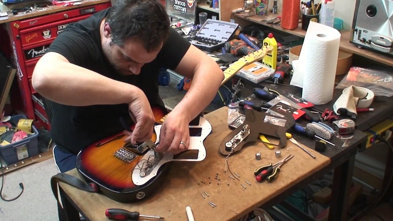 Squier Thinline 72' Mods: Pots, Cap, Switch & Wiring. on