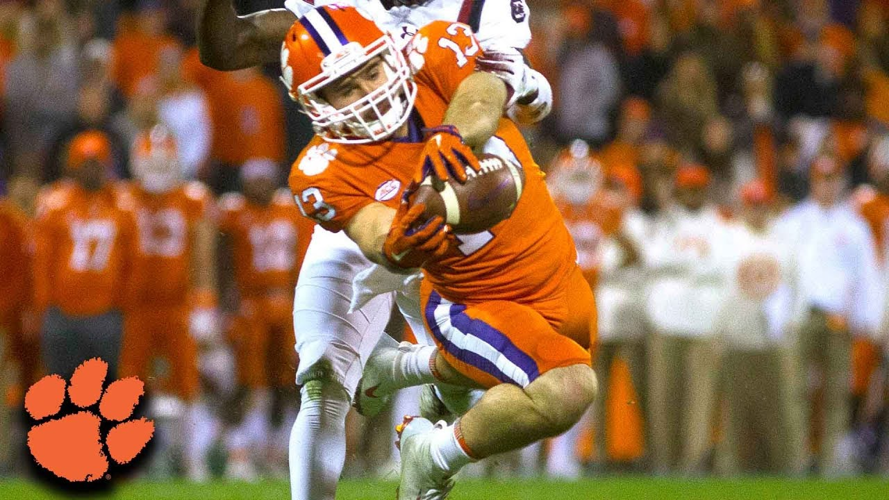 Image result for hunter renfrow highlights 2018