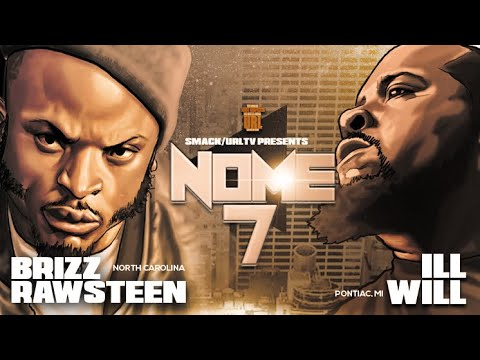 BRIZZ RAWSTEEN VS ILL WILL SMACK/ URL RAP BATTLE