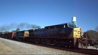 CSX Clickety Clack Train