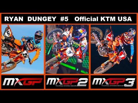 Official  Ryan Dungey #5 | MXGP Vs MXGP2 VS MXGP3 | KTM 450 sx-f TEAM USA