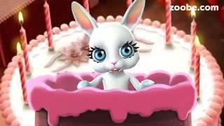 Зайка ZOOBE 'Любимый я не забыла что у тебя сегодня день рождения!'