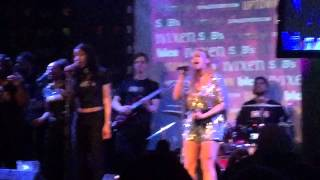 "Faith Evans performs "" Tears Of Joy "" at RnB Spotlight"