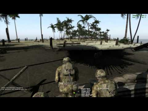 ArmA 2 - Hell In the Pacific - 15th MEU - Tarawa Terror Part 1/4 - Organized!
