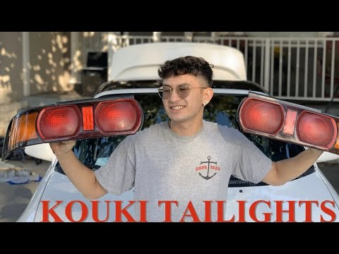 KOUKI TAILIGHTS FOR THE MR2