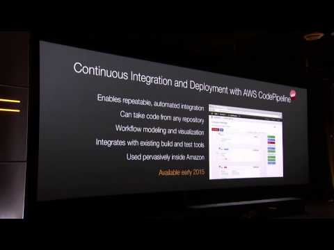 AWS re:Invent 2014 | Announcing AWS CodePipeline