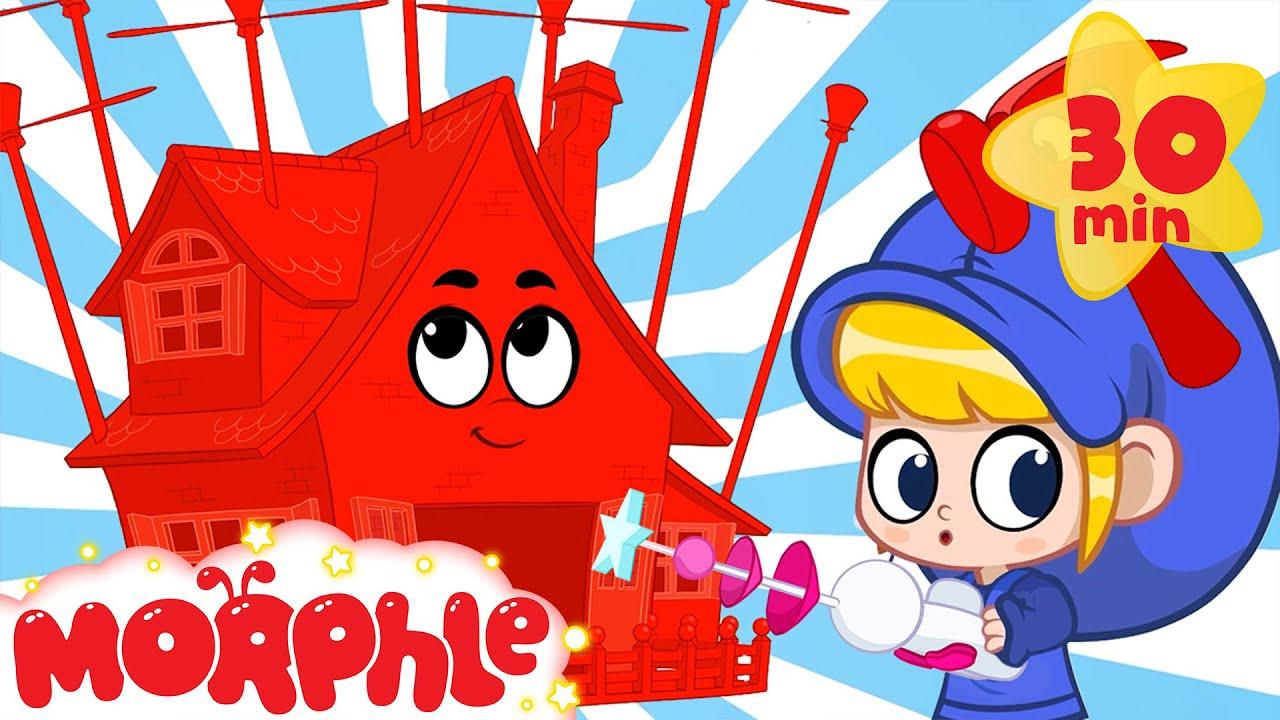 Magic House Morphle - Building Bandits | Mila and Morphle | Cartoons for Kids | Morphle TV