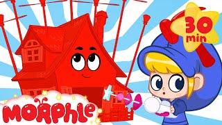 Magic House Morphle - Building Bandits | Mila and Morphle | Cartoons for Kids | Morphle TV