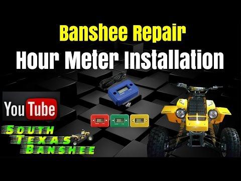 Banshee Hour Meter Installation