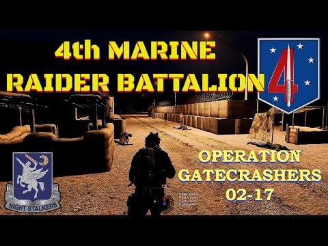 4th Marine Raider Battalion, Operation Gatecrashers 02-17