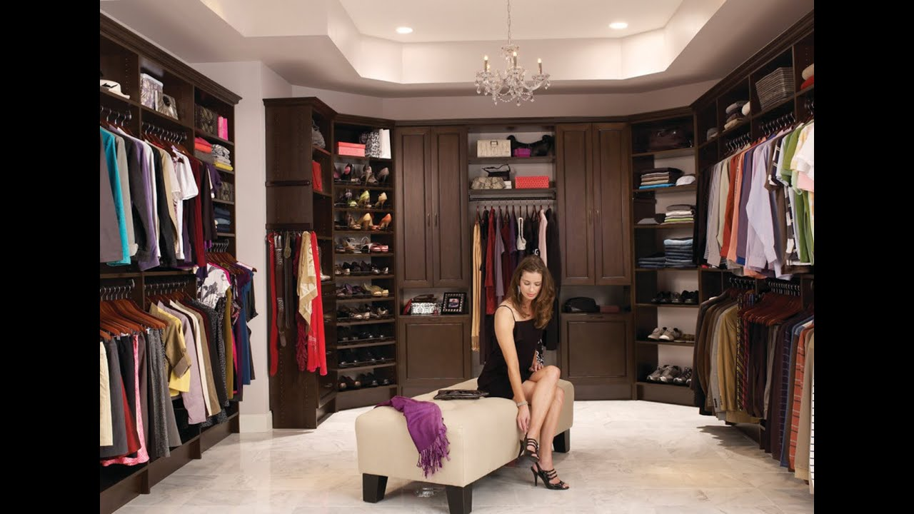 25 walk in closet designs  YouTube