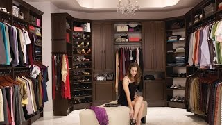 25 Walk In Closet Designs