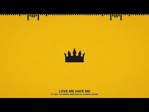 Chris Webby - Love Me, Hate Me (feat. Snak The Ripper, Mark Battles, R-Mean & Beanz)