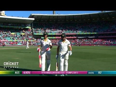 Fifth Test: Australia v England, day three