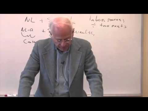 Class 24| Socialist Economics with Stephen Resnick