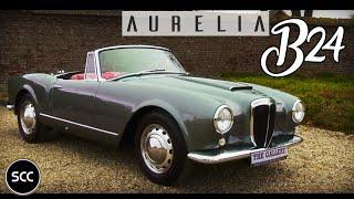 Lancia Aurelia B24 Convertible 1957 - Modest test drive - Engine sound | SCC TV