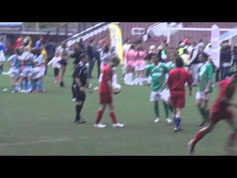 Team Merlin (BBC) At Soccer Six 2012- Bradley James And The Knights