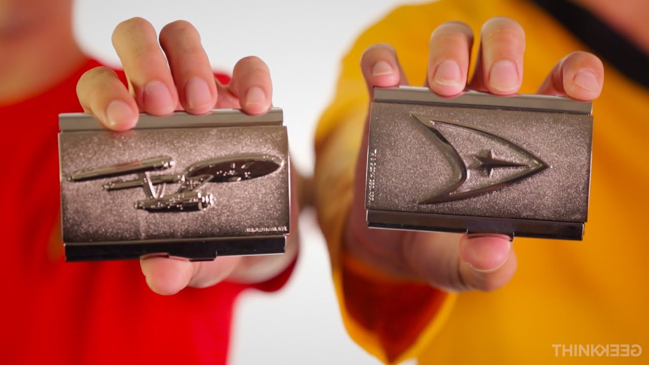 Star Trek Business Card Cases From Thinkgeek