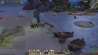 Battle for Azeroth Quest 391: Caught in the Net (WoW, human, Paladin)