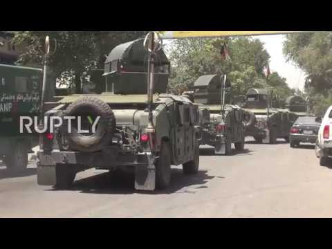 Afghanistan: Security forces surround Iraqi Embassy in Kabul following car bomb and gunfire