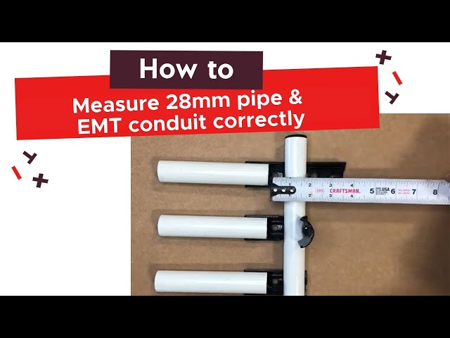 How To Measure Pipes Correctly | tinktube