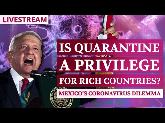 Is Quarantine a Privilege for Rich Countries? Mexico's Coronavirus Dilemma